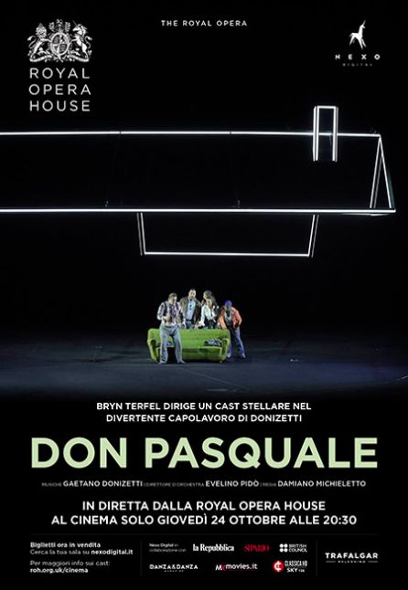 DON PASQUALE - DAL ROYAL OPERA HOUSE 2019/2020